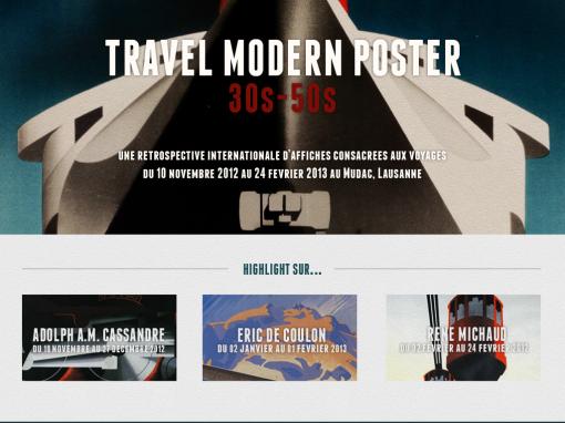 Travel Modern Poster