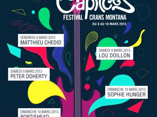 Affiche Caprices Festival